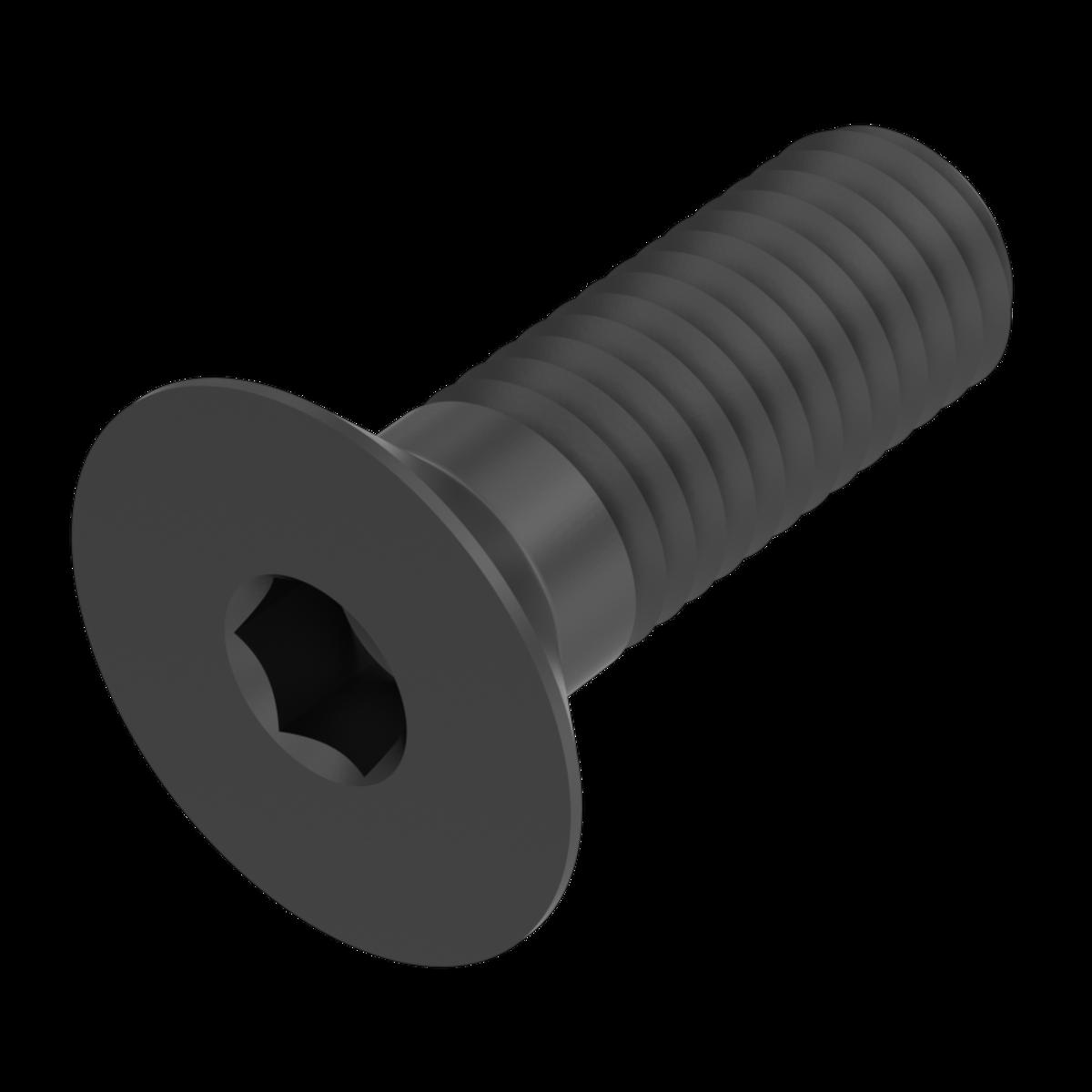 Senkschrauben ISK SC7991 SC-Normteile/® Senkkopfschrauben mit Innensechskant - M10x25 - Werkstoff: Edelstahl A2 V2A Vollgewinde - DIN 7991 // ISO 10642 10 St/ück