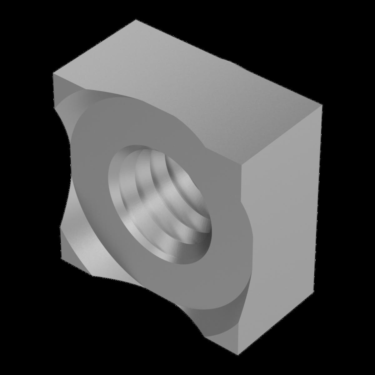 Galvanisé DIN 928-mère de soudure Tête carrée anschweißmutter m6 Gal