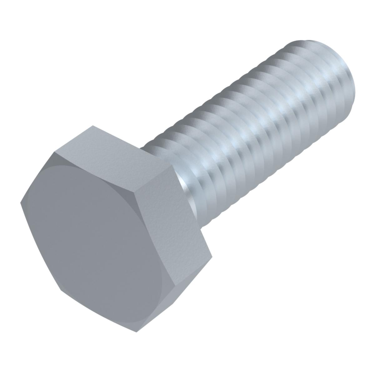 verzinkt DIN 931 20X M8x90 Sechskantschrauben Teilgewinde 8.8 galv ISO 4014 M8 x 90 20 St/ück