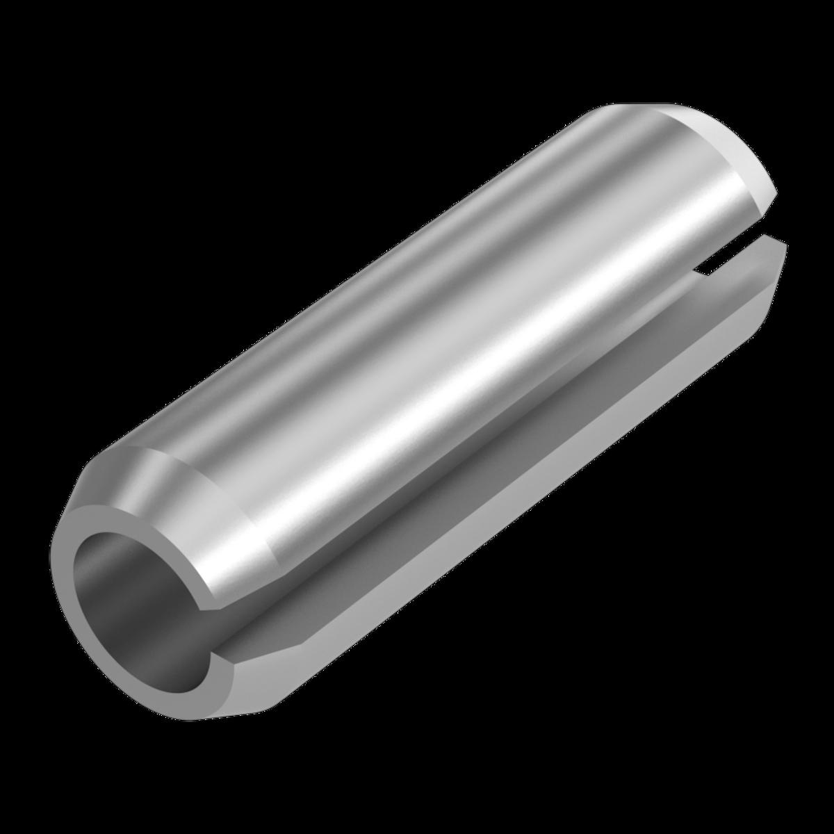 25 Spannstifte ISO 8752 1.4310 8x18 rostfrei Niro Edelstahl