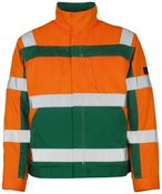 MASCOT CAMETA JACKE, ORANGE/GRÜN, Gr. 3XL