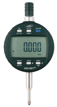 Dig. Messuhr 0 - 25 mm, Ablesung 0,001mm, integrated Wireless